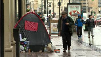 cardiff homelessness: should you donate tents to people?