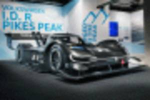 vw to chase nürburgring ev record with id r electric racer