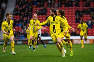john brayford the unlikely hero as burton albion rescue dramatic draw at doncaster rovers