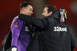 kelle roos 'good' competition for scott carson at derby county