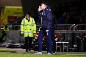they drove the last manager bonkers - graham coughlan's warning shot to bristol rovers players after dismal loss