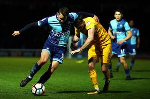wycombe wanderers captain talks up added spice of bristol rovers game