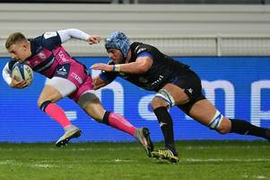 injury-time try sends gutsy gloucester rugby to fourth straight defeat in castres