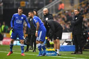 leicester city suffer agonising last minute defeat at wolverhampton wanderers