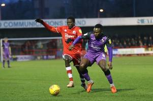crawley 0, port vale 1: 'excellent display and a plan b' - fans have their say