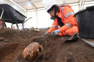 Skulls and bones revealed as thousands of dead Brummies are dug up during HS2 works