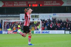 harry toffolo hits stunning winner as lincoln city see off grimsby town in lincolnshire derby
