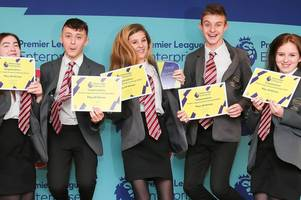 stoke city beats everton and leicester to reach national final (of an enterprise challenge!)