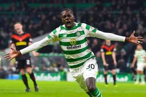 celtic 3 airdrie 0 as timothy weah lives up to the hype with stylish debut goal - 3 talking points