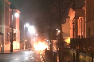 suspected car bomb goes off outside derry courthouse as cops warn public to stay away