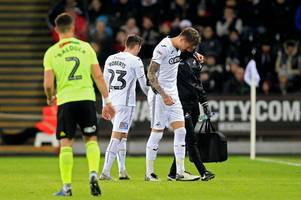 swansea city suffer major injury blow as graham potter reveals why wilfried bony missed sheffield united win