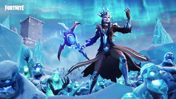 Fortnite's Ice Storm cometh, Ice King dumps blizzard on the whole island