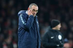 sarri transcript: every word of chelsea boss's stunning rant to his players after arsenal defeat
