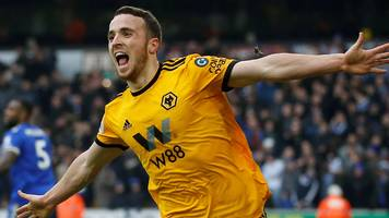 Jota hat-trick as Wolves beat Leicester in seven-goal thriller