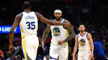 Even in 15 Minutes, DeMarcus Cousins Shows How Dangerous the Warriors Can Be