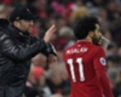 salah reveals half-time team talk that spurred liverpool to crystal palace victory