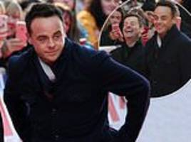 ant mcpartlin joins declan donnelly for day three of bgt comeback