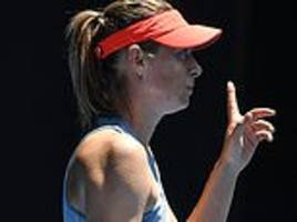 Australian Open: Maria Sharapova slammed for taking toilet break for SEVEN MINUTES against Ash Barty