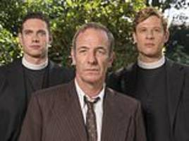 christopher stevens reviews grantchester and the weekend's tv