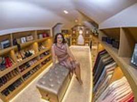 would you pay £30,000 for a walk-in wardrobe? the latest must-have make friends weep with envy