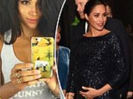 meghan 'had fake social media account' but shut it down at christmas after seeing vile comments