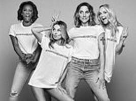 Spice Girls' T-shirts for 'gender justice' campaign 'made in factory where women earn 35p an hour'