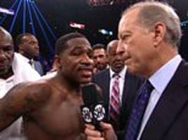 Adrien Broner booed as he insists he was robbed of victory after defeat to Manny Pacquiao