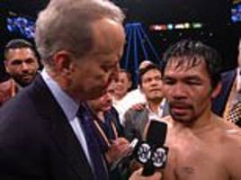 fans react to manny pacquaio's call-out of floyd mayweather as rematch talk ramps up