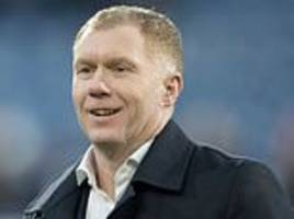 man united legend paul scholes poised to be named oldham athletic boss
