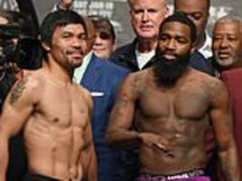 Manny Pacquiao vs Adrien Broner LIVE – Build-up and boxing updates from Madison Square Gardens