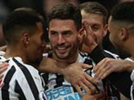 newcastle defender fabian schar surprises himself with stunning solo goal in cardiff win