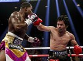 pacquiao rolls back the years at the age of 40 with dominant points win over broner in las vegas