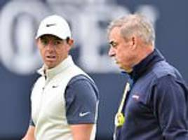 paul mcginley backs rory mcilroy to find a permanent fix to his final day jix
