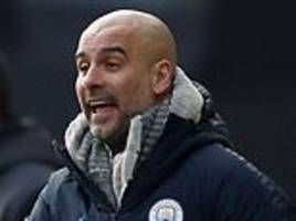 pep guardiola demands more from his manchester city squad after easing to victory over huddersfield