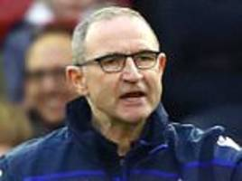 'i was caught up in it': martin o'neill shows his passion for management remains strong
