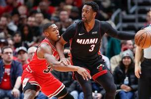 Josh Richardson leads Heat past Bulls in Dwyane Wade's final game in Chicago