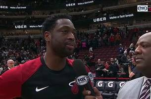 Dwyane Wade recaps win over the Bulls, looks back on his career with Jason Jackson