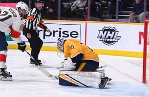 vincent trocheck nets game-winner against predators as panthers win 2nd straight