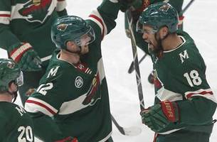 wild cap off hockey day minnesota with 2-1 win over blue jackets