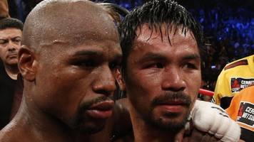 Manny Pacquiao: Filipino challenges Floyd Mayweather to a rematch