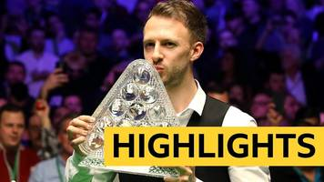 highlights: trump thrashes o'sullivan to win first masters title