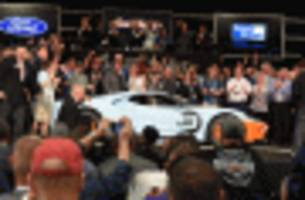 2019 ford gt heritage edition with famous gulf livery sells for $2.5m