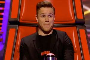weston-super-mare singer harrisen larner-main wows olly murs on the voice