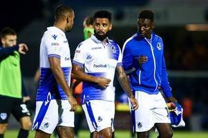 bristol rovers forward heading out on loan