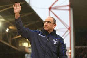 martin o'neill one of nottingham forest's miracle men - 'but he doesn't have a magic wand'