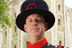 from being called 'nappy' at school to looking after the tower of london for the queen