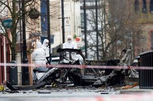 cops link new ira to car bomb outside court in derry as arrests made