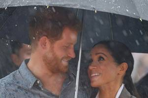 meghan markle and prince harry just sent out the most adorable thank you card