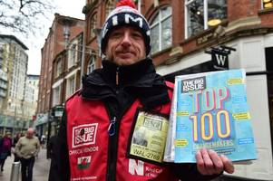 the stories behind the people who sell the big issue in cardiff