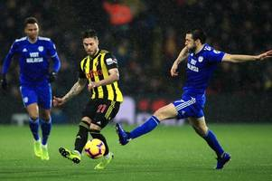 aston villa and watford interested in cardiff city's harry arter who could end loan spell early - reports